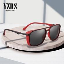 YZRS Brand Polarized Sunglasses Men Vintage Designer Coating Sun Glasses Oculos Masculino Gafas de