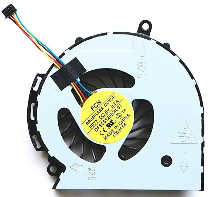 Laptop Replacement Parts CPU Cooler Fan for HP Pavilion TPN-F112 TPN-F113 TPN-F114 TPN-F115 TPN-F116 CPU Cooling Fan 747242-001