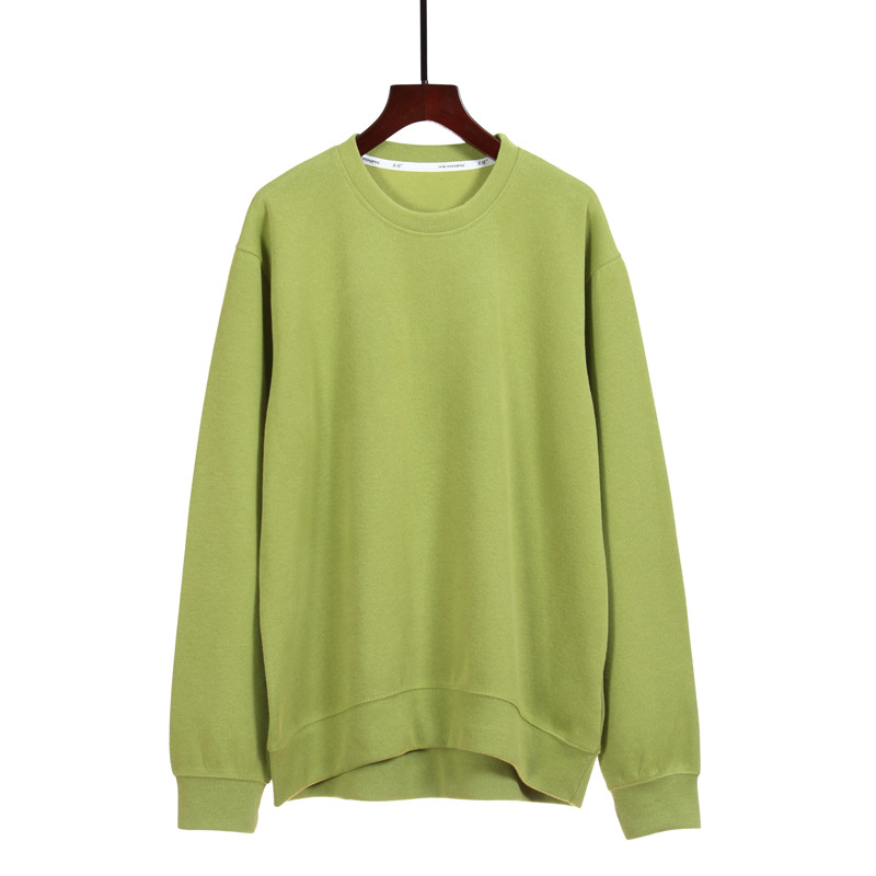 New Ladies Round Neck Sweater Cotton Casual Pullover Sweater