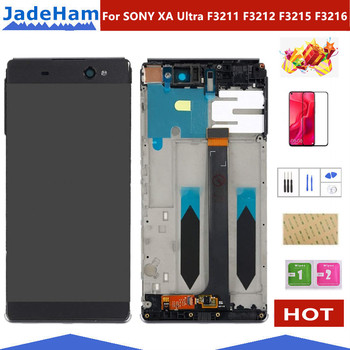 6.0 Original LCD For SONY Xperia XA Ultra Display Touch Screen with Frame For SONY XA Ultra LCD Display F3211 F3212 F3215 F3216
