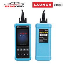Car diagnostic tool OBD 2 scanner Launch CReader 8001 OBDII/EOBD tester for Oil EPB Service light Reset Auto Code Reader Scanner(China)