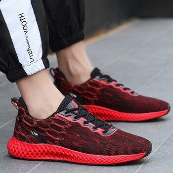 Mesh Breathable Casual Weaving Light Soft 2019 Fashion Men Shoes   Male Trainers Mens Shoe  Human Race S3466-3490 C1