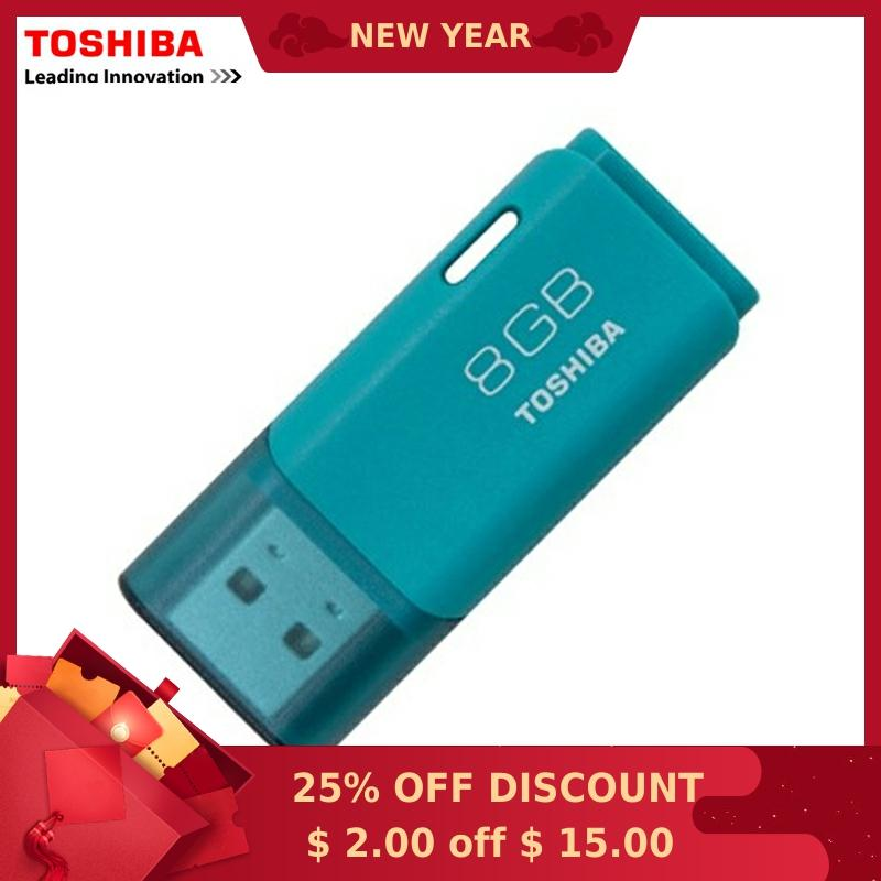 TOSHIBA USB Flash Drive 8GB USB2.0 TransMemory USB Flash Drive Quality USB Memory Stick 8G Usb Pen Drive Free Shipping