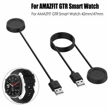 USB Magnetic Charging Dock Cable For Xiaomi Huami Amazfit GTR 42mm 47mm Watch Cord Charger Power For Amazfit GTR image