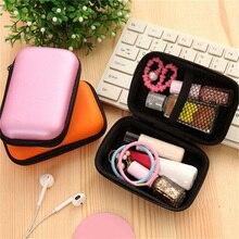 1 шт. 2 Тип EVA Органайзер проводов для наушников коробка портмоне наушники с USB кабелем Защитный чехол Коробка для хранения Бумажник Чехол Контейнер для сумок