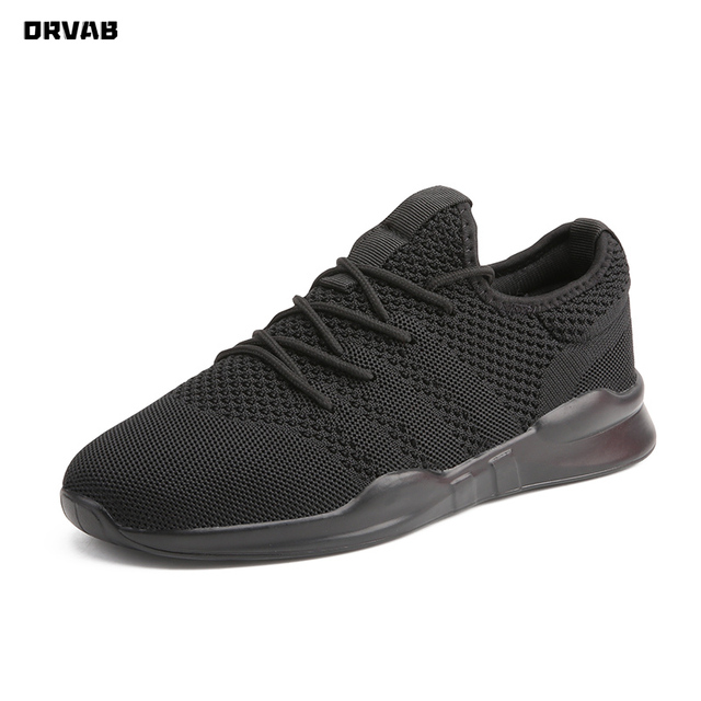 Summer Brand Fashion Men Casual Shoes Light Breathable Mesh Shoes Men Sneakers Lace Up Gray White Black Red Male Shoes 2020 New Uncategorized Fashion & Designs Men's Fashion