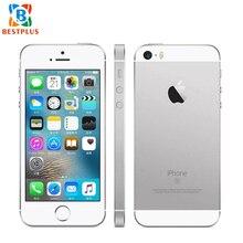 """Разблокированный мобильный телефон Apple iPhone SE A1723 LTE 4,"""" 2 Гб ОЗУ 16 Гб ПЗУ двухъядерный смартфон 640x1136 px с отпечатком пальца"""