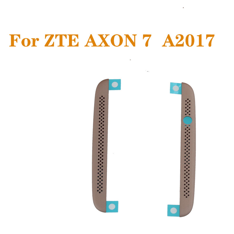 Original Up & Down Cover Front Frame Up And Down Speaker Network Ribbon For ZTE Axon 7 AXON7 A2017 A2017G A2017U Mobile Phone