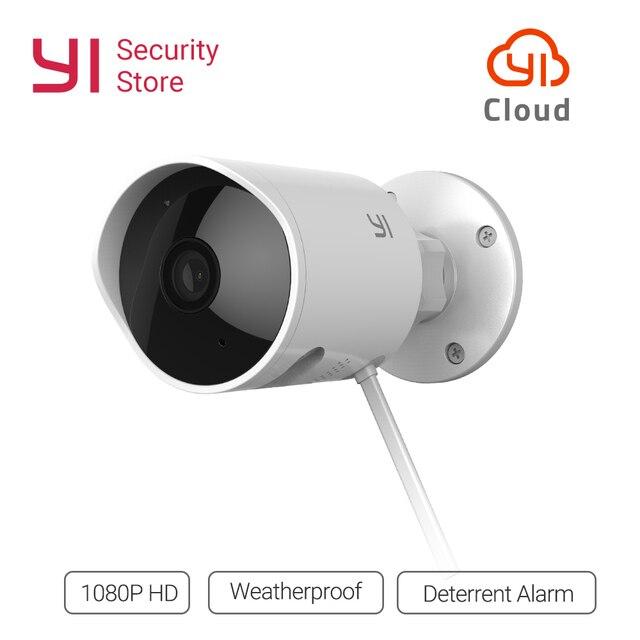 YI Security Camera 2.4G con scheda SD e potrebbe Wireless IP Cam risoluzione sistema di sorveglianza esterna per visione notturna impermeabile