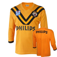 Retro wests tigers rugby camisa masculina tamanho S-5XL
