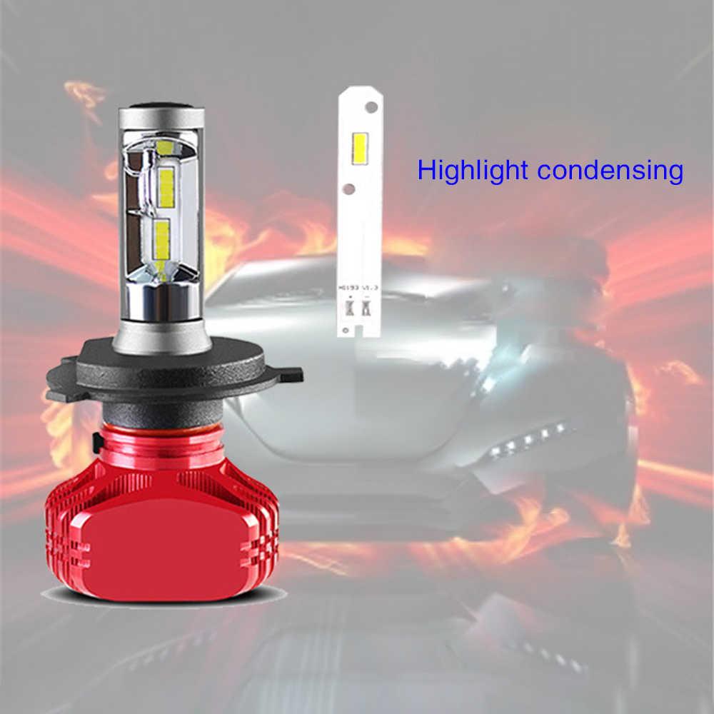 السيارات مصابيح ليد أمامية سيارة المصابيح الأمامية 9004/5/6/7 H11 H4 H1 H3 H7 Led مصباح PX24 5202 3000K 4300K 6000K 36W IP68 Modefied سيارة أضواء