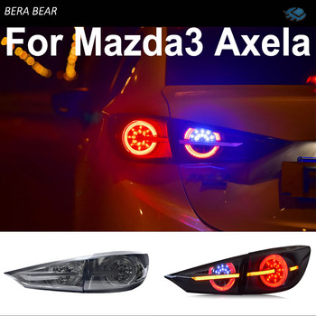 BERA BEAR Car Styling Taillights For Mazda 3 Axela Tail Light Lamp LED DRL+ Brake+Back-up+Turn signal+Fog Lamp