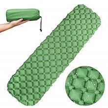 Спальный коврик для кемпинга-сверхлегкий надувной матрас W/компактный-спальный коврик для походов и активного отдыха