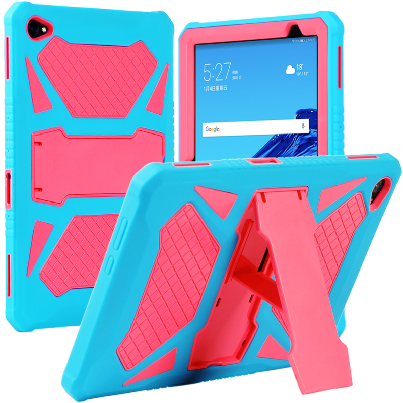 """Image 2 - Heavy Duty Armor Case For Huawei MediaPad M5 Lite 10 PC and Silicon Cover for M5 Lite 10 BAH2 W19 BAH2 L09 BAH2 W09 10.1"""" + FlimTablets & e-Books Case   -"""