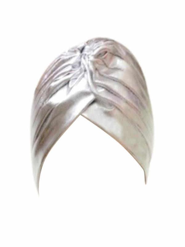 النساء مطوي لمط البوليستر قبعة الاستحمام قبعة عمامة غطاء رأس قبعة واقية من الشمس قبعات مكسيكية كابيلو دونا Hijib كاب قبعة كاب