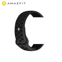 Silicone Amazfit bip Strap WatchBand 20mm Correa amazfit bip Amazfit Bip BIT Lite Youth Smart Watch Wrist Bracelet(China)