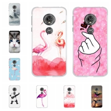 For Motorola Moto E5 Case Soft TPU Silicone For Motorola Moto G6 Play Cover Cartoon Patterned For Motorola Moto E 5th Gen. Coque цена и фото