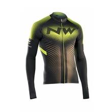 Новинка, Northwave, одежда для велоспорта с длинным рукавом, осень, NW, Майки для велоспорта, одежда для горного велосипеда, Мужская одежда для велоспорта