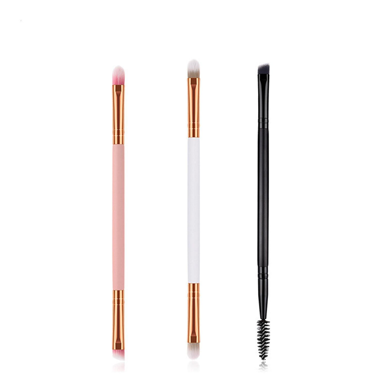 Single Makeup Brush Eyebrow Brush Eyelash Brush Beauty Tools Makeup New Products Nylon Hair Long Wooden Handle Make Up Brush