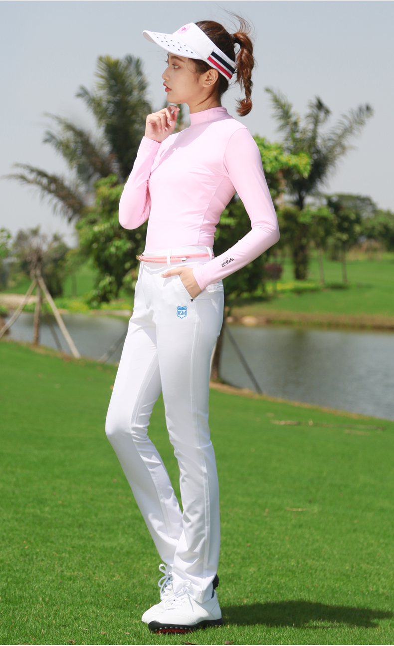 Calças de golfe