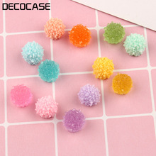 DECOCASE 30pcs Sweet Sugar Candy Slime Charms Beads Headwear Flatback Crafts Ornaments Decoration Phone Case DIY Accessories