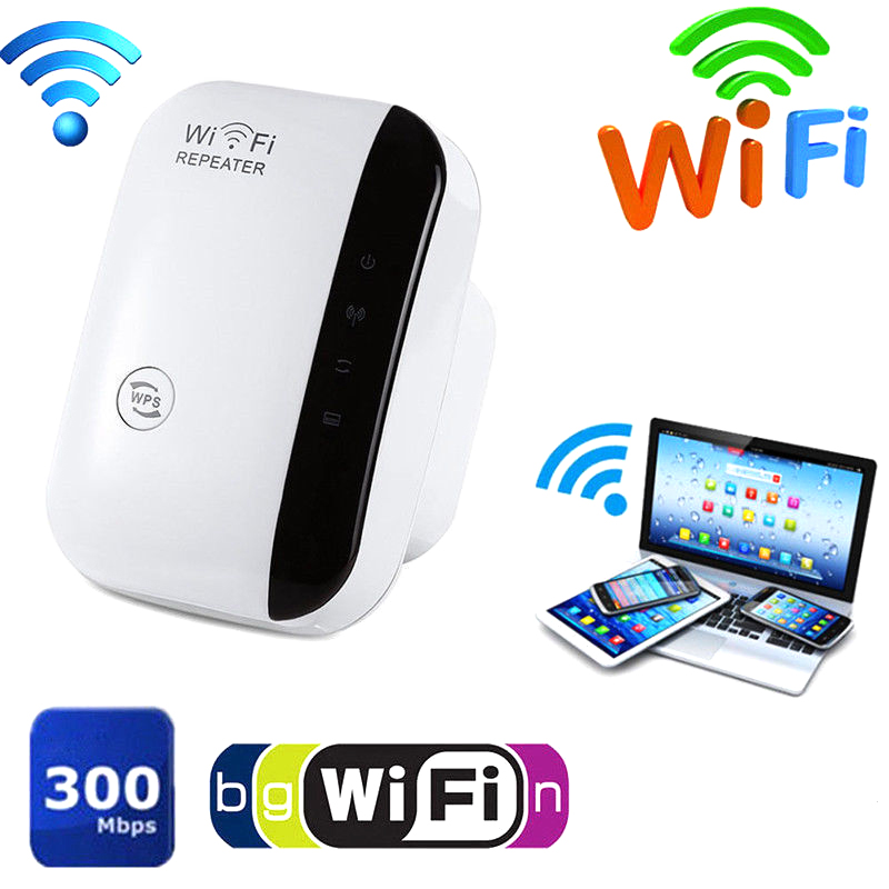 WiFi Range Extender Super Booster 300Mbps Superboost Boost Speed Wireless WiFi Repeater FKU66