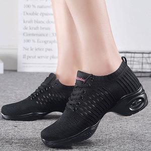 Image 5 - Womens Dance Shoes  Jazz Dancing Shoes For Woman Summer Mesh Modern Dance Shoes Ladies Female Sport Feature Dance Sneaker 34 41