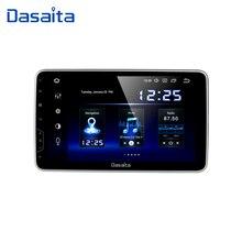 "Dasaita רכב רדיו 1 Din אנדרואיד 9.0 TDA7850 10.2 ""IPS אוניברסלי רכב אוטומטי סטריאו Bluetooth GPS ניווט HDMI פלט 64G ROM"