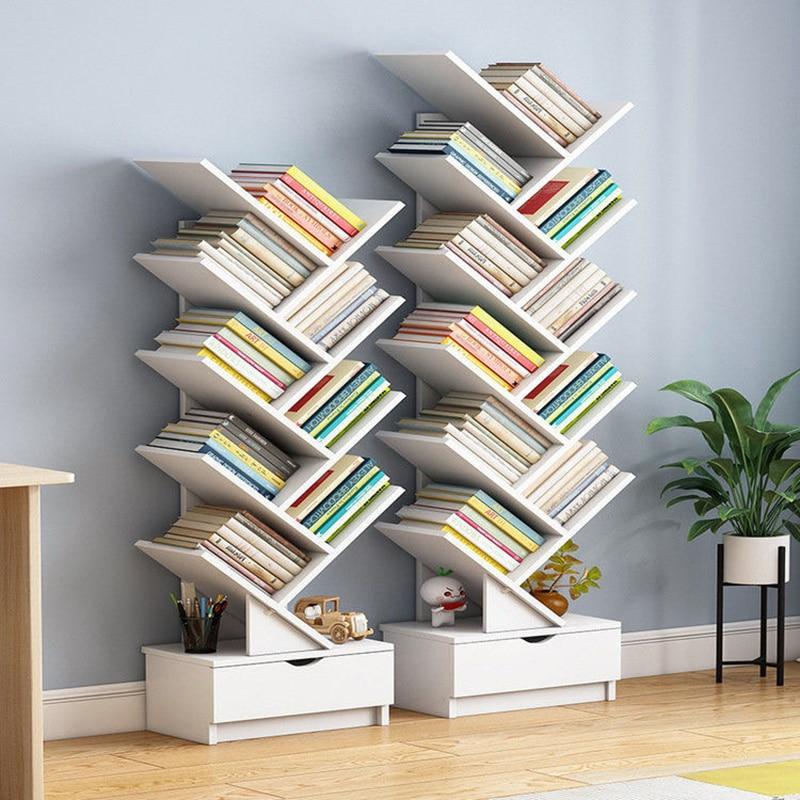 Einfach Bücherregal Stand Multilayer Bücherregal Multifunktionale Lagerung Schränke Bad Regal Möbel Organizer Buch Fall