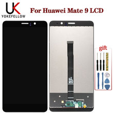 For Huawei Mate 9 LCD Display Touch Screen Digitizer With Frame Mate9 MHA-L09 MHA-L29 Screen Replacement For Huawei Mate 9 LCD