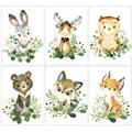 Алмазная живопись 5d HUACAN, лиса, кролик, мозаика для домашнего декора, мультяшная животная, ручная работа, искусство