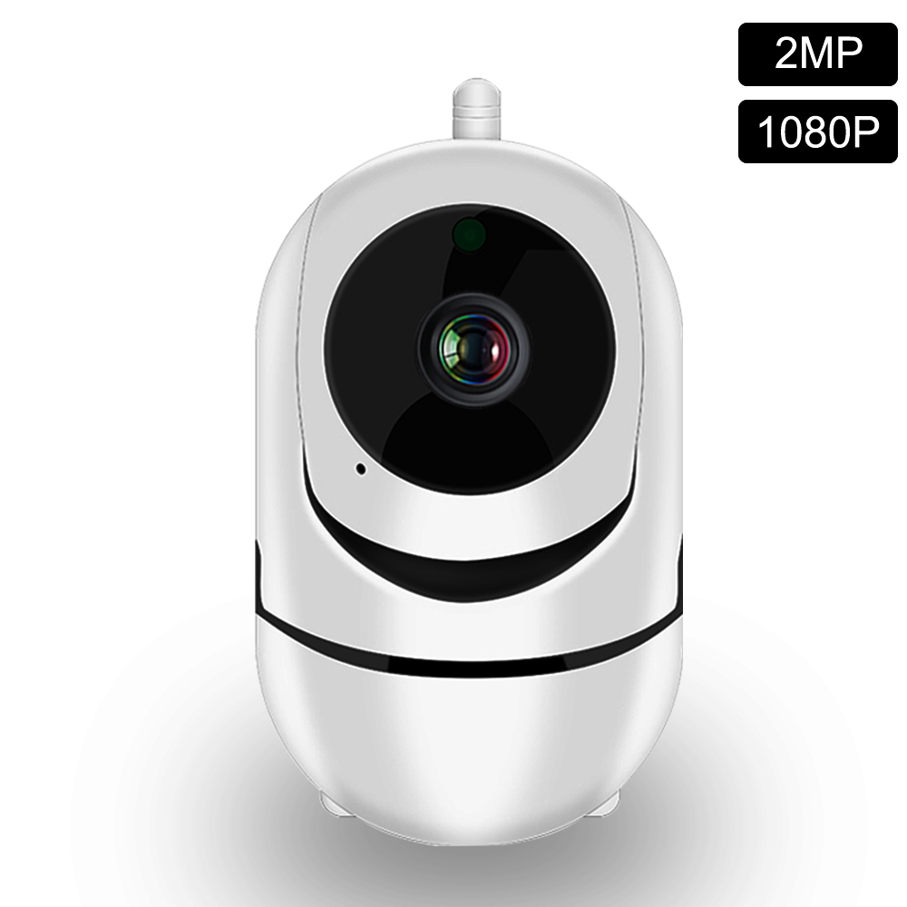 IP Camera 1080P WiFi Cloud Storage Auto Tracking  Human Two Way Audio Night Vision Home Security CCTV Camera Baby Sleep Monitor