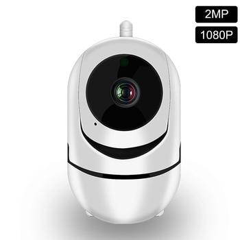 IP Camera 1080P WiFi Cloud Storage Auto Tracking Human Two Way Audio Night Vision Home Security CCTV Camera Baby Sleep Monitor