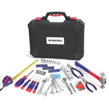 WORKPRO 160PC home Tool Set Hand Tools for Daily Use Househo