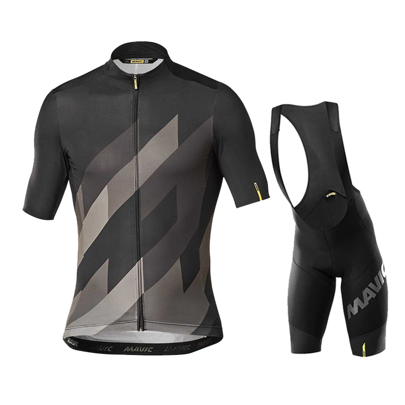 2020 Team Mavic Cycling Jerseys Bike Wear clothes Quick-Dry bib gel Sets Clothing Ropa Ciclismo uniformes Maillot Sport Wear