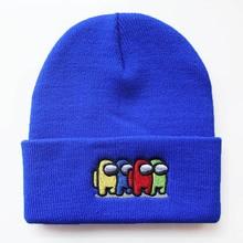 Bonnets Women Beanie Among Knitted-Hat Game Keep-Warm Model for Cap Hip-Hop-Hat Hat Men