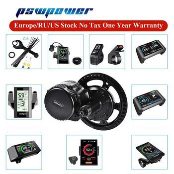 Bafang BBS01B BBS02B 8FUN silnik typu middrive 36V 250W 350W 500W 48V 500W 48V 750W elektryczny rower rower zestaw do zamiany na rower elektryczny e-bike tanie i dobre opinie CN (pochodzenie) Bezszczotkowy 36V 48V 400 w Boku wisiał silnik 36V250W 350W 500W 48V500W 750W Ebike conversion kit e-bike motor bicycle kit