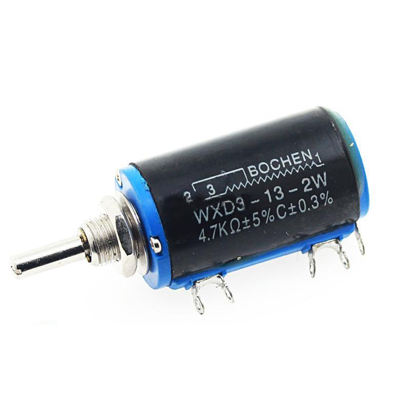 1Pcs WXD3-13-2W 10K Ohm Multi-Turn Wirewound Potentiometer ZY