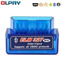 Elm327 Obd2 Scanner Code V1.5 V2.1 Mini Bluetooth OBD2 Automobile detector Code reader obd2 Car scanner diagnostic repair tools