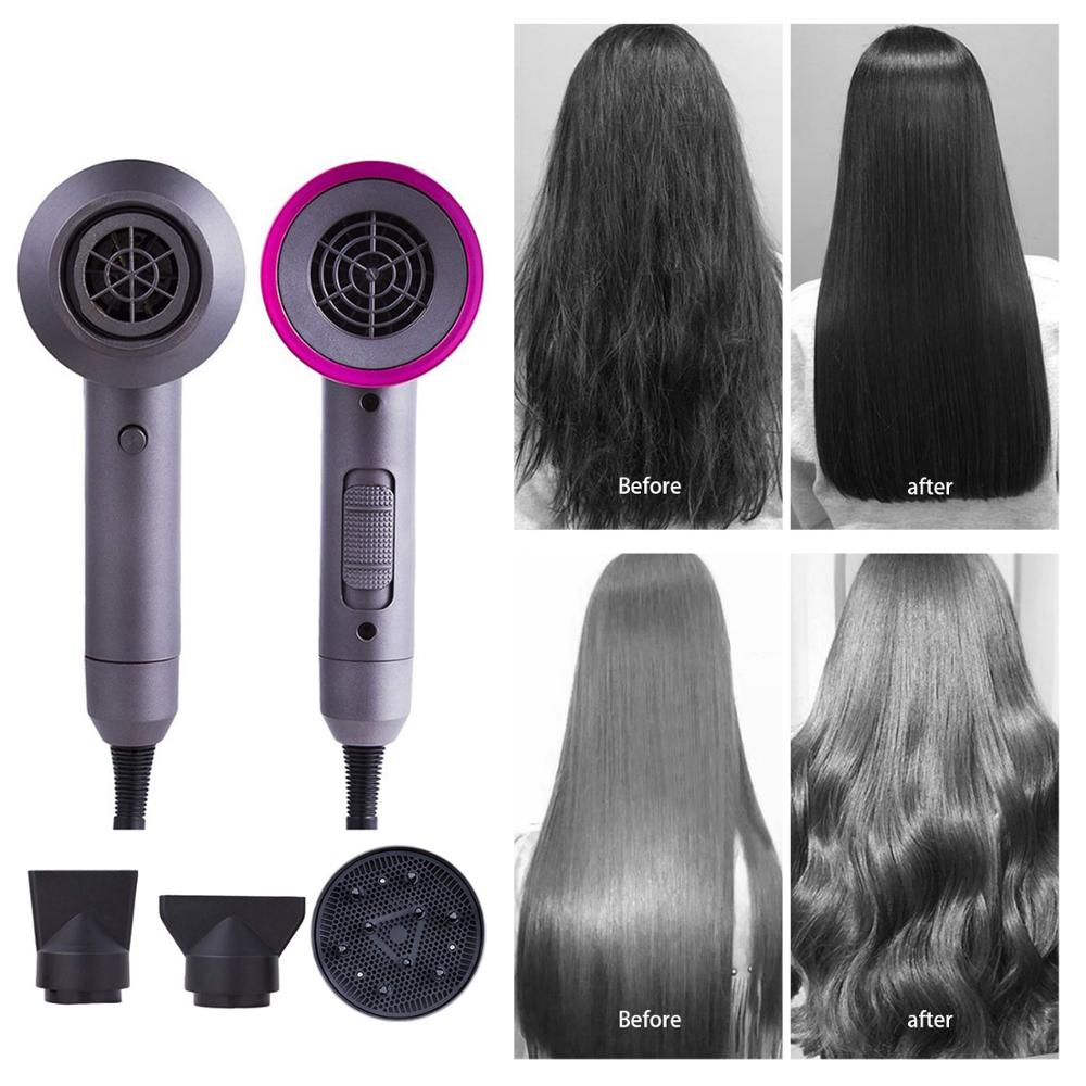 Hair-Dryer Styler Volumizing Dry-Fan Temperature Quick-Hair Large-Power Salon Constant title=