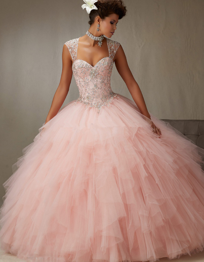2018 New Prom Gown Detachable Strap Sexy Fluffy Sequin Plus Size Women Vintage Quinceanera Sweetheart Mother Of The Bride Dresse