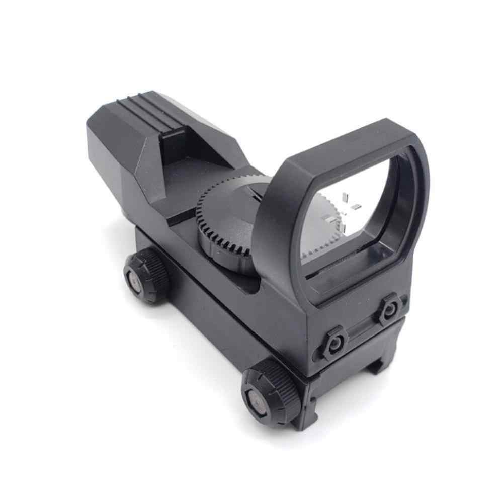 20Mm Rail Riflescope Berburu Optik Hologram Red Dot Sight 4 Reticle Taktis Lingkup Pistol Berburu Aksesoris