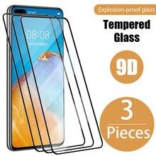 3 шт. закаленное стекло для Huawei P30 P20 P40 Lite P20 P30 экран стекло для Huawei P20 Pro Mate 20 10 30 Lite P40 P Smart Z 2019