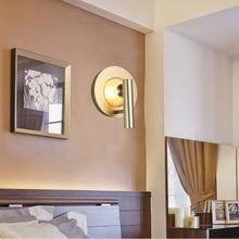 купить Artpad Wall-Led Lighting Fixture Gold Corridor Light Bedroom Balcony Aisle Staircase Led Retro Modern Lamp with Light Source по цене 3254.61 рублей