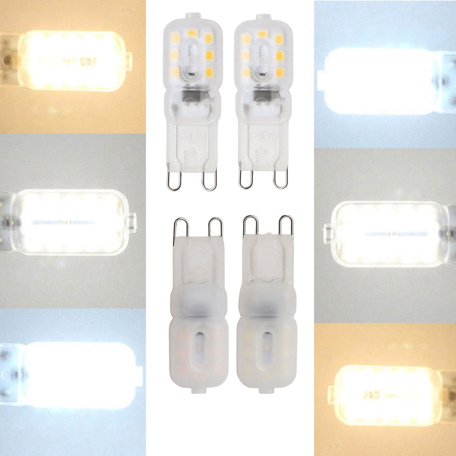 Mini 3W 14LEDs G9 LED Lamp  LED Bulb SMD2835 Spotlight Chandelier High Quality Lighting Replace 30W Halogen Lamps 110V 220V