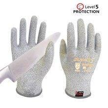 Guantes Anti-corte Nivel 5 antibacterianos alimentos accesibles guantes Anti-corte BladeX guantes mecánicos flexibles de fibra