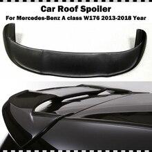 цена на Piecha Style FRP Primer Rear Roof Wing spoiler For Benz A-Class A200 A220 A250 A45 AMG 2013-2018 W176 Fiber glass rear spoiler