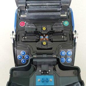 Image 3 - Frete grátis fibra óptica soldador ftth fusão splicer máquina de emenda