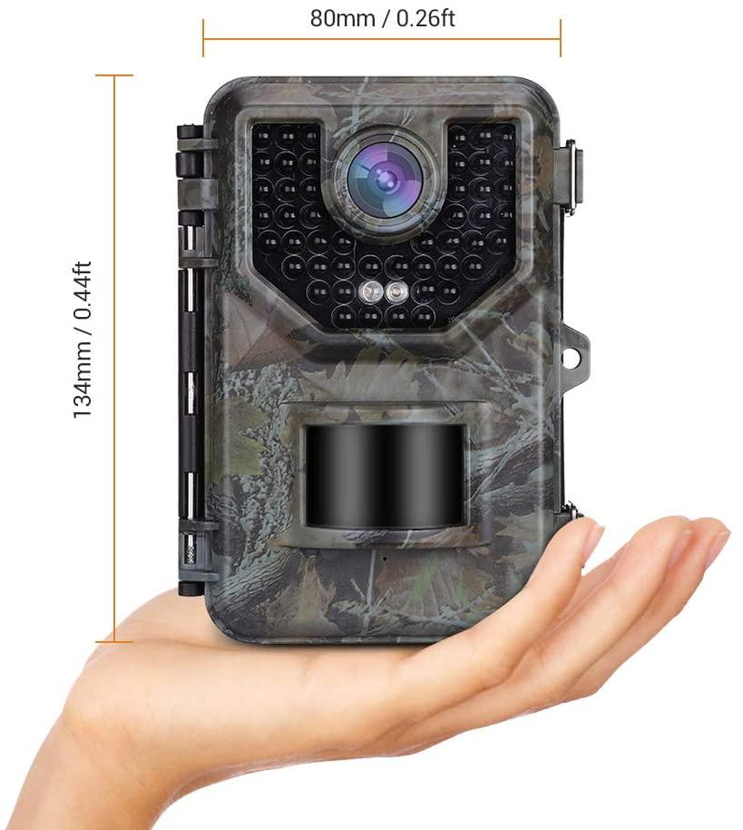 2.4 polegada lcd caça trail câmera com