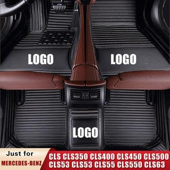 Car Floor Mats for CLS Shooting Brake CLS350 CLS400 Cls450 CLS500 CLS53 CLS53 CLS55 CLS550 CLS63 AMG S Sedan Coupe Trunk Mat